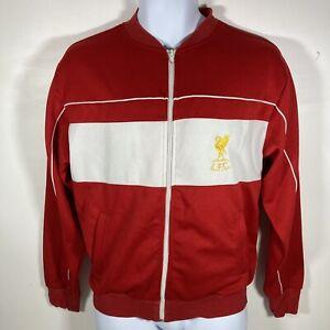 Score Draw Retro Mens Liverpool Lightweight Jacket Top Full Zip - Size Medium