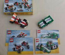 Lego Creator 3 In 1 : Dune Hopper 6743 +  Racing Car 5763 -Bundle - Complete