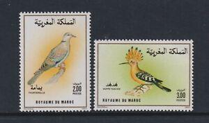 Morocco - 1990, Birds set - MNH - SG 787/8