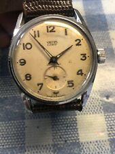 Vintage Mens Smiths Everest With Sub- Second Watch Rare 1940/50s Fully SERVICED