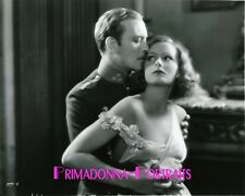 "GRETA GARBO & CONRAD NAGEL 8x10 Lab Photo 1928 ""MYSTERIOUS LADY"" Pre-Code Dress"