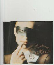 Madonna- Erotica UK 3 version cd single