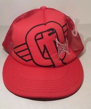 Tapout Baseball Cap Red Embroidered New