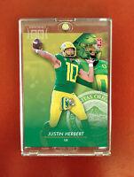 Justin Herbert Rookie Card / QB / Oregon / Generation Next
