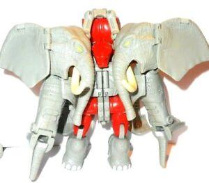TRANSFORMERS Beast Wars ELEPHANT IRONHIDE iron hide magnaboss 1996 1997 machines