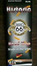 ROUTE 66 LAMINATED  ROAD MAP CHICAGO TO LA 90TH 2016 EDITION! BEST GUIDE!!