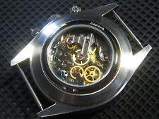 Alpha Watch Chronograph 821/832 SG2903 Display Case Back With Daytona Marking