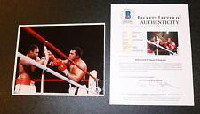 Authentic Autograph signed Boxing Muhammad Ali Beckett BAS JSA PSA photo 8X10