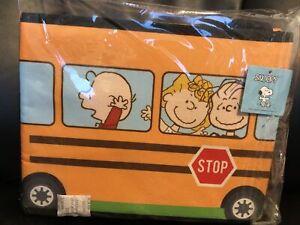 Snoopy Bus Cooler Bag Lunch/Food New Toreba