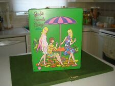 1966 Barbie, Francie, Casey Doll Trunk(case), Nice Graphics