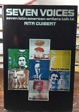 HC/DJ Seven Voices RITA GUIBERT Pablo Neruda JORGE LUIS BORGES Marquez PAZ 1973