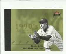 Derek Jeter 2002 Fleer Premium Legendary Dynasties #34   New York Yankees