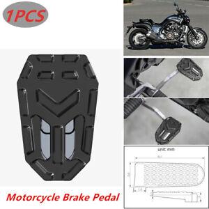Stainless Steel Widening Non-slip Brake Pedal Motorcycle Bike ATV Aluminum Parts