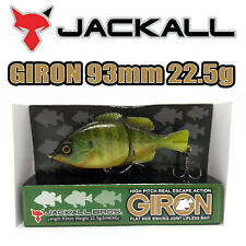 JACKALL BROS. Giron Jointed Lipless Sinking JAPAN Leurre 93MM 22.5G RT BLUE GILL