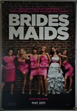 BRIDESMAIDS DS ROLLED ORIG 1SH MOVIE POSTER KRISTEN WIIG MELISSA MCCARTHY (2011)