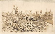 F36/ Fergus Falls Minnesota RPPC Postcard 1919 Cyclone Disaster