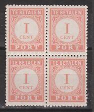 Port 41 MNH PF sheet blok Nederlands Indie Netherlands Indies due portzegel 1941