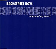 BACKSTREET BOYS - SHAPE OF MY HEART CD SINGLE 1 TRACK PROMO 2000 SLIM BOX
