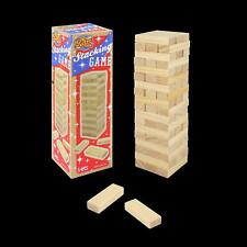 Wooden Stacking Tumbling Tower Game (18cm) - Bordem Buster Kids Toy