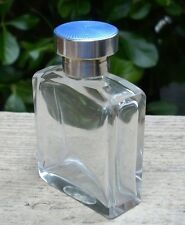 Antique Art Deco Perfume Bottle Silver Guilloche Top Birmingham UK