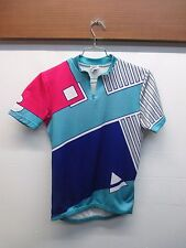 Vintage 1990 Performance Cycle Wear Pull-Over Small Half Zip Shirt Back Size L