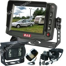 "Caravan/Trailer Reversing Camera Kit 5"" Reversing Monitor Car Rear View Camera"
