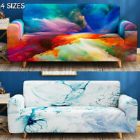 1 2 3 4 Seater Elastic Sofa Couch Covers Spandex Stretch Slipcover Protector
