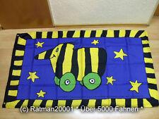 Fahne Flagge Tigerente Janosch - 90 x 150 cm