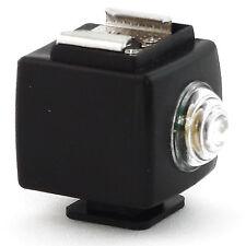 Trigger Ottico Adattatore Fotocellula DynaSun PSS03 per Flash a Slitta Hot Shoe
