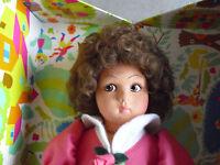 """RARE 1994 Lenci Natalia Girl Doll Nurnberg Toy Fair with Box 14"""""""
