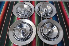 "VINTAGE 1940's 1950's DODGE 15"" HUB CAPS HUBCAPS WHEEL COVERS SET OF 4 CAR TRUCK"