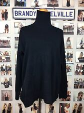 New! Brandy Melville Soft Black Knit Turtleneck Sweater Pull Over Nwt