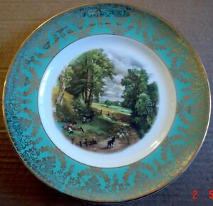 Liverpool Road Pottery THE CORNFIELD Collectors Plate #2