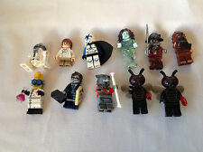 Lego Figure Lot of 11 Original Star Wars and Halloween Must See! L@@@K