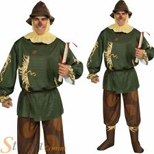 Mens Official Wizard Of Oz Scarecrow Adult Halloween Fancy Dress Costume Outfit