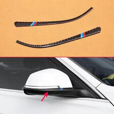 For BMW 1/2/3/4 Series Carbon Fiber Side Rear View Mirror Trim Strip F21 F23 F30