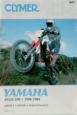 Clymer Yamaha XT125, 250 1980-1984 Repair Maintenance Manual Y417 M417 70-0417