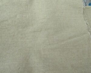 """Material/Fabric 18"""" x 54"""" Brownish Cotton? REMNANT"""