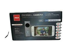 RCA Smart Doorbell Home Security Wifi Video Camera HSDB1