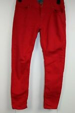 Ted Baker Paris Red Jeans womens size W30 L29 excellent condition