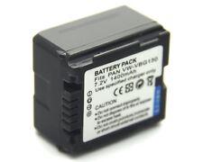 Battery for Panasonic VW-VBG070 VW-VBG130 VW-VBG070PP VW-VBG130PP Brand New