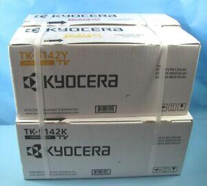 Genuine Kyocera TK-5142K TK-5142C TK-5142M TK-5142Y TK5142 CMYK TONER SET