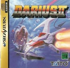 USED  Darius 2 Taito  SEGA SATURN JAPANESE IMPORT