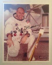 Astronaut Alan Bean Autographed Official Nasa Photograph