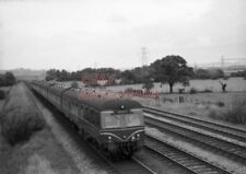 PHOTO  DMU 2 X 3 CAR INTER CITY SETS APPROACHING EBBW CURVE WITH A SOUTH WALES -