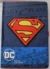 Superman Daily Planet Hardcover A5 Writing Journal Notebook DC Licensed