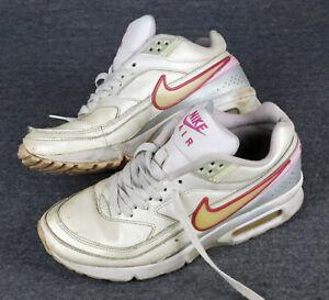 Nike BW, Gr. 38,5, UK 5,5 Leder/Weiß, used, fertig