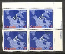 Canada #847, 1980 17c Arctic Islands Acquisition - 100th Anniversary, PB4 NH