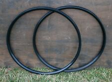 "NOS 26"" Black Velocity Blunt Bicycle RIMS 32h Mountain Bike MTB Cruiser Wheel"