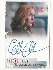 Gillian Anderson as Dana Scully The X Files Season 10 & 11 Autograph Card Auto